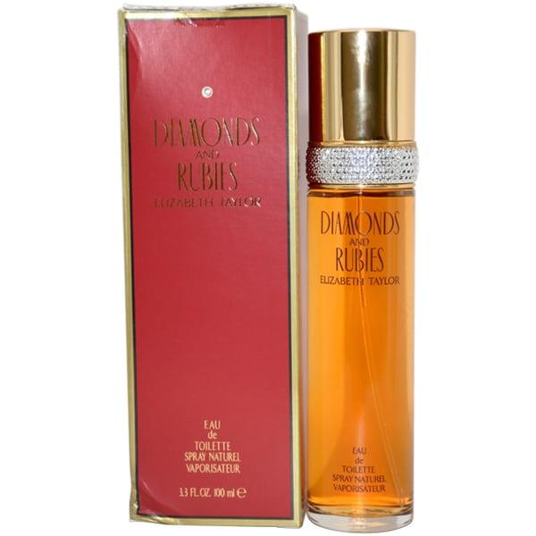 Elizabeth Taylor Diamonds and Rubies Women's 3.3-ounce Eau de Toilette Spray (Unboxed)