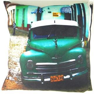 Cuba Printed Car Cushion Cover