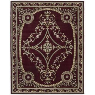 Nourison Hand-tufted Versailles Palace Brick Red Rug (8' x 11')