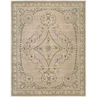 Nourison Hand-tufted Versailles Palace Multicolor Rug (7'6 x 9'6) - 7'6 x 9'6