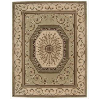 Nourison Hand-tufted Versailles Palace Sage Rug (8' x 11')