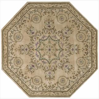 Nourison Hand-tufted Versailles Palace Multicolor Rug (6' x 6') Octagon