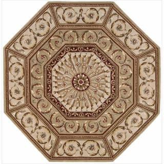 Nourison Hand-tufted Versailles Palace Sage Rug (9'6 x 13'6)