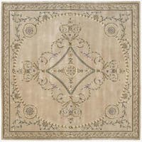 Nourison Hand-tufted Versailles Palace Multicolor Rug (8' x 8') Square - 8' x 8'