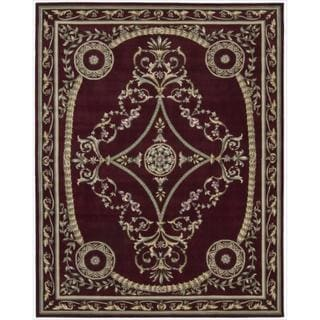Nourison Hand-tufted Versailles Palace Brick Red Rug (7'6 x 9'6)