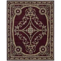 Nourison Hand-tufted Versailles Palace Brick Red Rug (7'6 x 9'6) - 7'6 x 9'6