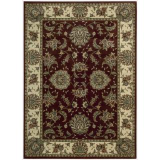 Cambridge 'Persian Splendor' Beige Rug (5'3 x 7'4)