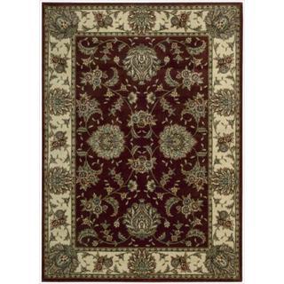 Cambridge 'Persian Splendor' Beige Rug (5'3 x 7'4)
