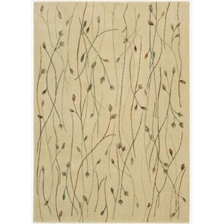 Cambridge Budding Vine Ivory Rug (9'6 x 13')