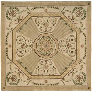 Nourison Hand-tufted Versailles Palace Blush Rug (8' x 8') Square