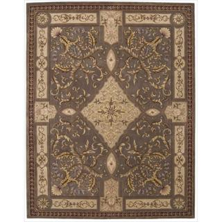 Nourison Hand-tufted Versailles Palace Mushroom Rug (7'6 x 9'6)
