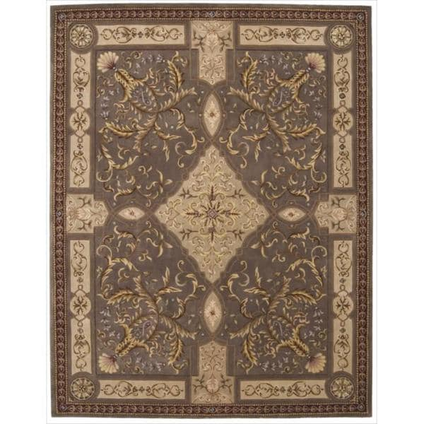 Nourison Hand-tufted Versailles Palace Mushroom Rug (7'6 x 9'6) - 7'6 x 9'6