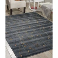 Cambridge Graceful Branches Black Rug - 9'6 x 13'