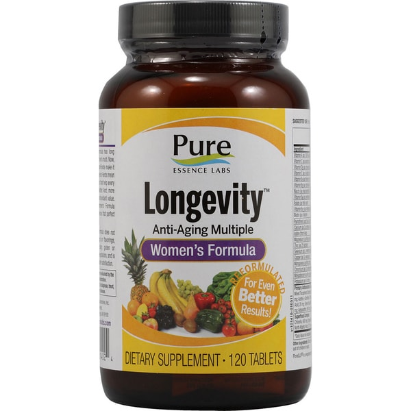 Pure Essence Labs Longevity Women's Formula (120 Tablets)