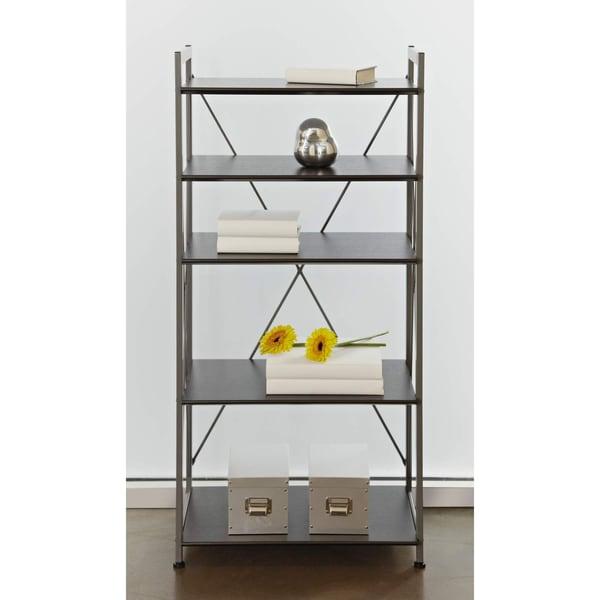 Tribeca 5-shelf Bookcase