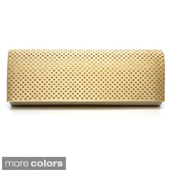 J. Furmani Women's Studded Flap Clutch