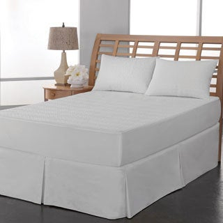Rest Remedy PEVA Leaf Waterproof Mattress Pad
