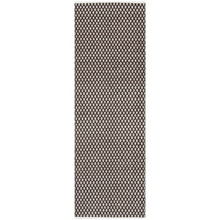 Safavieh Handmade Boston Flatweave Brown Cotton Rug (2'3 x 7')