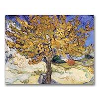 Vincent Van Gogh 'Mulberry Tree, 1889' Canvas Art
