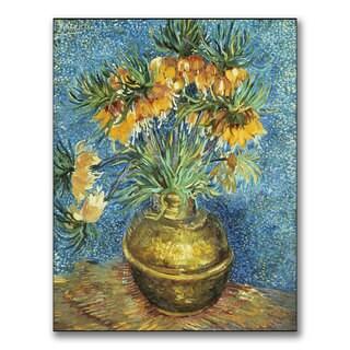 Vincent Van Gogh 'Imperial Crown Fritillaries' Canvas Art