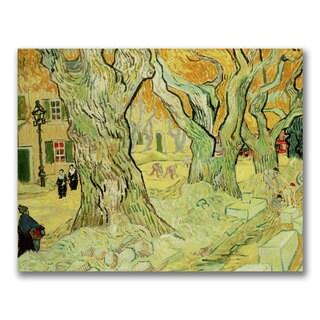 Vincent Van Gogh 'The Road Menders' Canvas Art