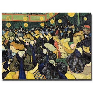 Vincent van Gogh 'The Dance Hall at Arles 1888' Canvas Art