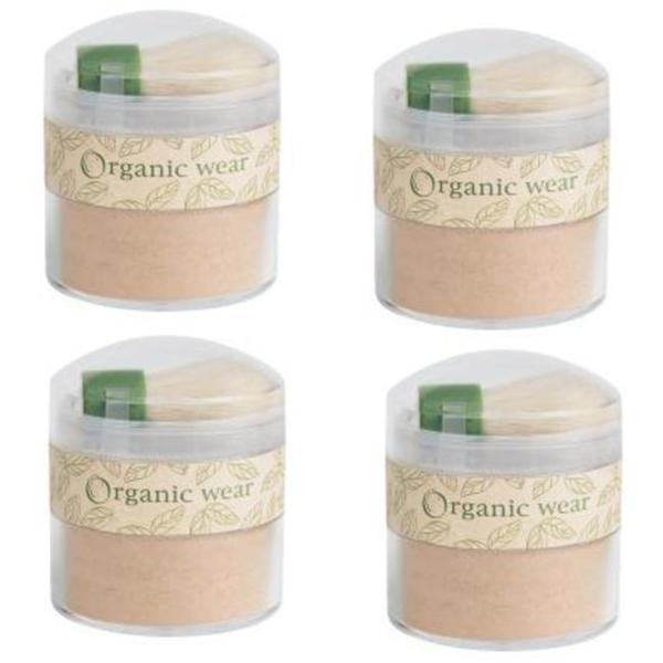 Physicians Formula Organic Wear Loose Powder Medium (Pack of 4)