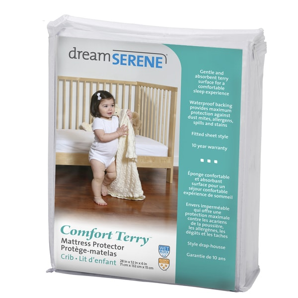 QuickCover DreamSerene Comfort Terry 220 Waterproof Mattress Protector