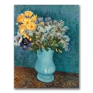 Vincent Van Gogh 'Vase of Flowers' Canvas Art