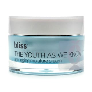 Bliss The Youth As We Know It Anti-aging 1.7-ounce Moisturizing Cream