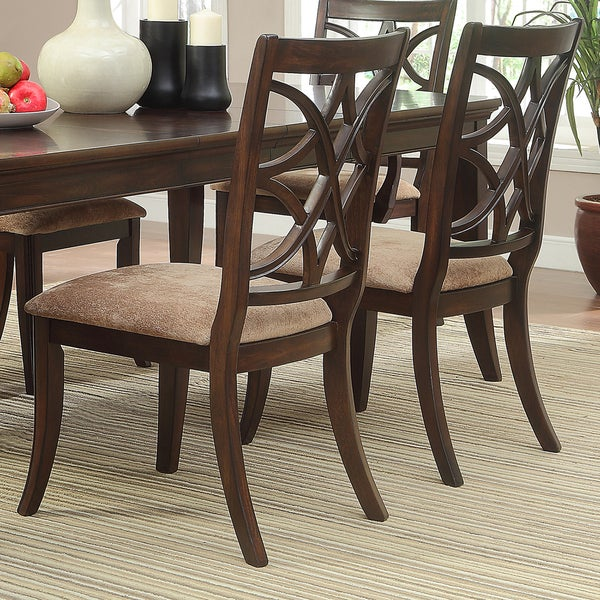 Cheshire Rich Espresso Traditional Dining Chair (Set of 2) by iNSPIRE Q Classic