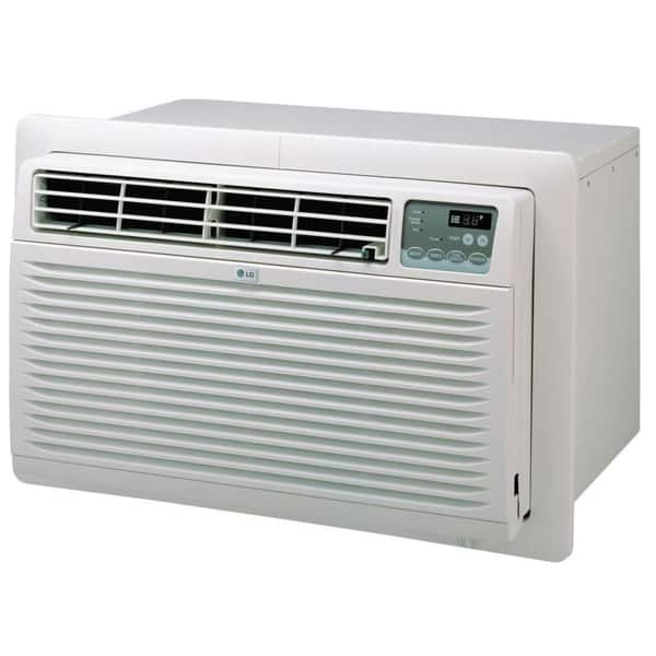Shop Lg 13 000 Btu Through The Wall Air Conditioner With Remote Refurbished White Overstock 7668624