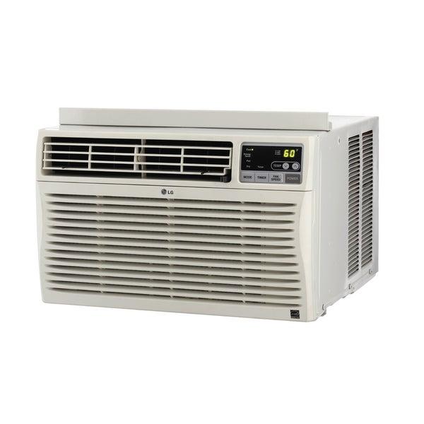 LG 8,000 BTU Window Air Conditioner with Remote ...