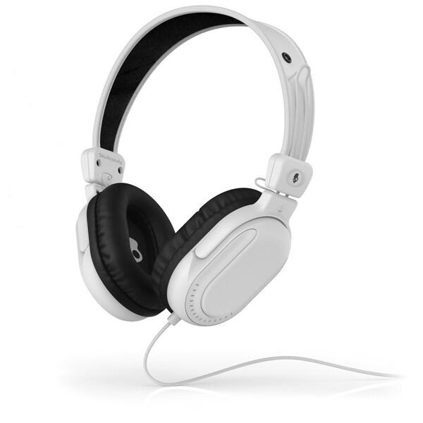 Skullcandy Agent White Over Ear Headphone