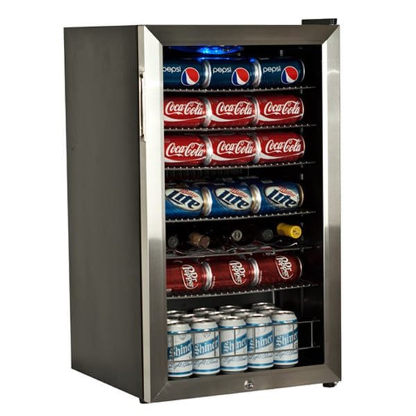 EdgeStar Supreme Cold Stainless Steel Beverage Cooler Sold by Living Direct