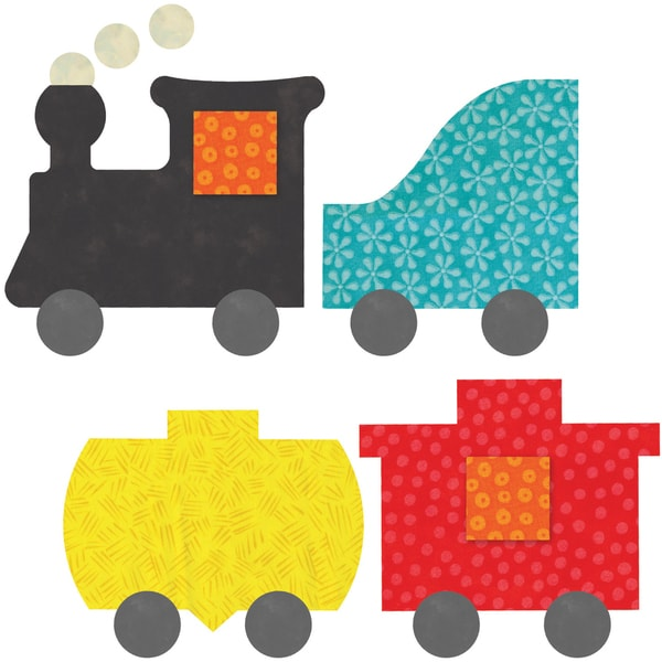 GO! This & That Fabric Cutting Dies-GO! Train