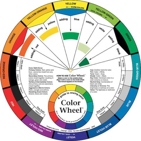 """Color Wheel 9-1/4""""-"""