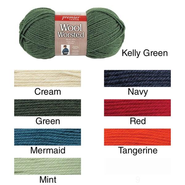 Wool Worsted Yarn