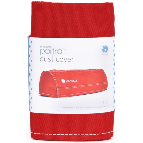 Silhouette Portrait Dust Cover-Red
