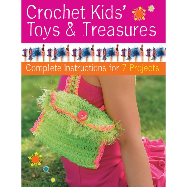 Creative Publishing International-Crochet Kids' Toys & Treasures