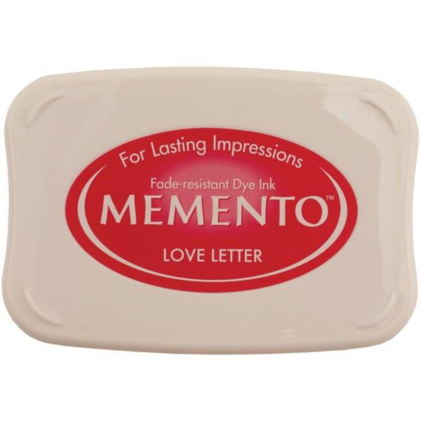 Memento Full Size Dye Inkpad-Love Letter
