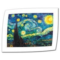 Vincent van Gogh 'Starry Night' Flat Canvas