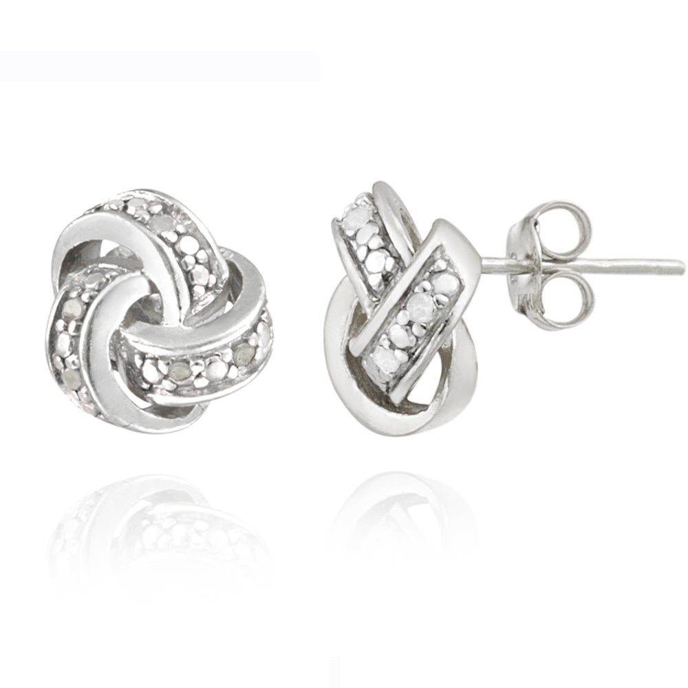 885461bfe Pave Earrings | Find Great Jewelry Deals Shopping at Overstock