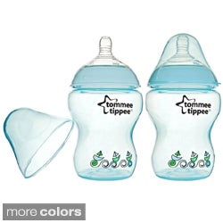 Tommee Tippee Closer to Nature 9-ounce Feeding Bottles (Pack of 2)