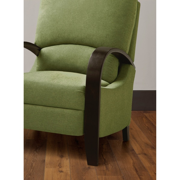 Riverside Green Bent Arm Recliner - Free Shipping Today - Overstock.com - 15083288  sc 1 st  Overstock.com & Riverside Green Bent Arm Recliner - Free Shipping Today ... islam-shia.org