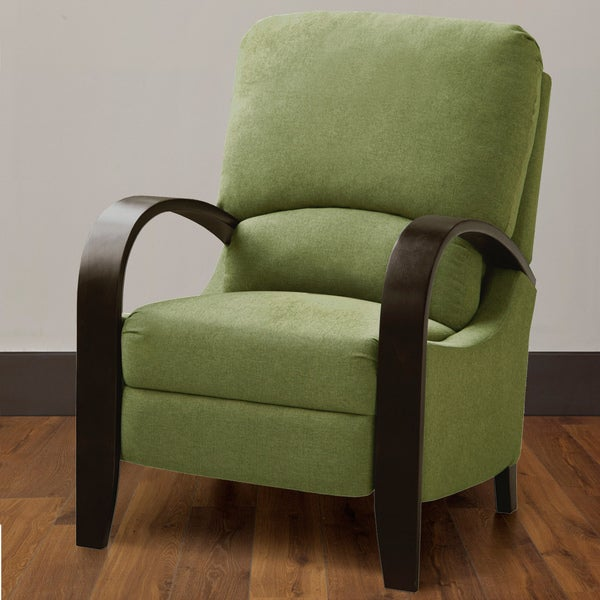 Copper Grove Riverside Green Bent Arm Recliner Free