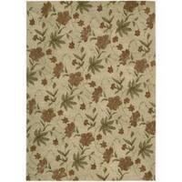 "Hand-tufted Modern Elegance Oat Wool Rug (3'6 x 5'6) - 3'6"" x 5'6"""