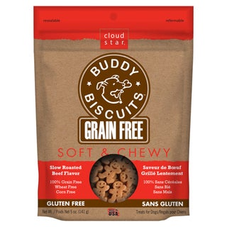 Cloud Star Roasted Beef Chewy Dog Biscuits