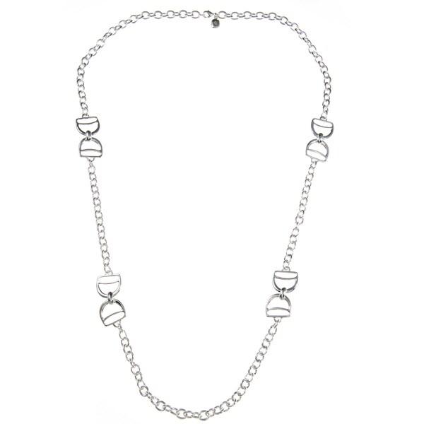 Ralph Lauren Silvertone 36-inch Chain Necklace