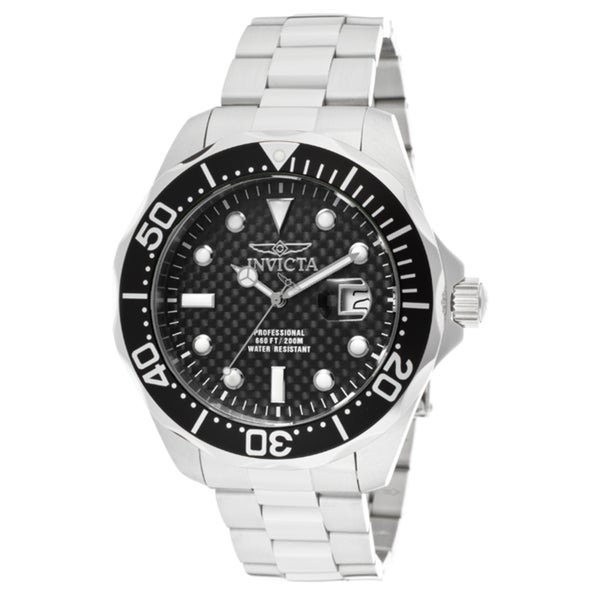 Invicta Men's 12562 'Pro Diver/Grand Diver' Stainless Steel Watch